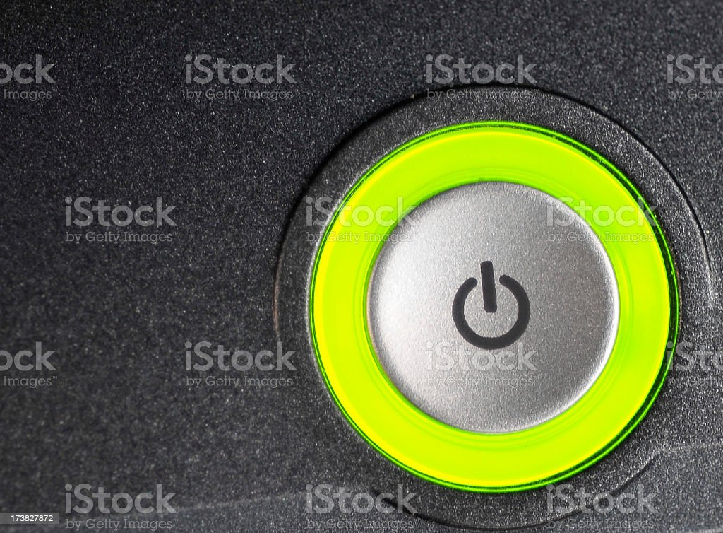 Power On royalty-free stock photo