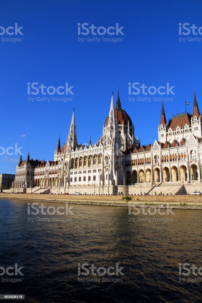 Power on the Danube stock photo