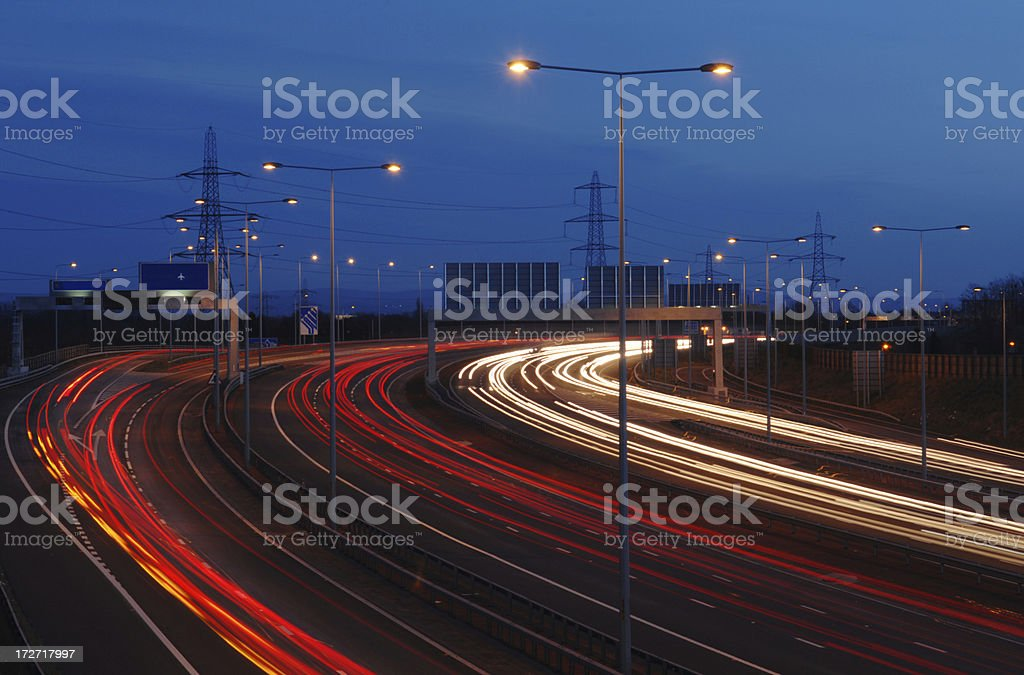 Power On The Move stock photo