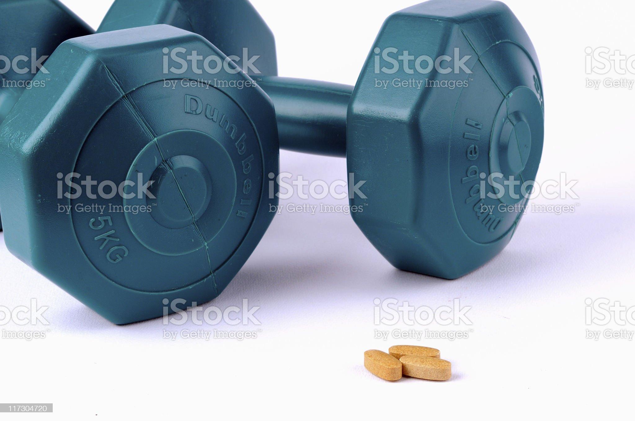 power pills royalty-free stock photo