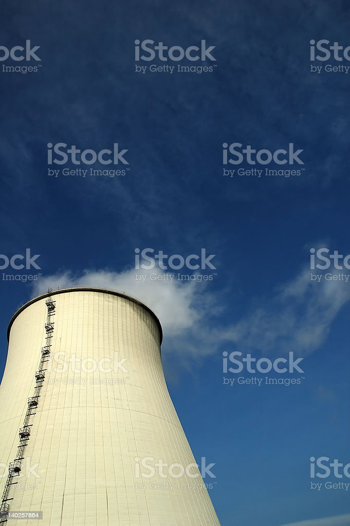 Power plant image. royalty-free stock photo