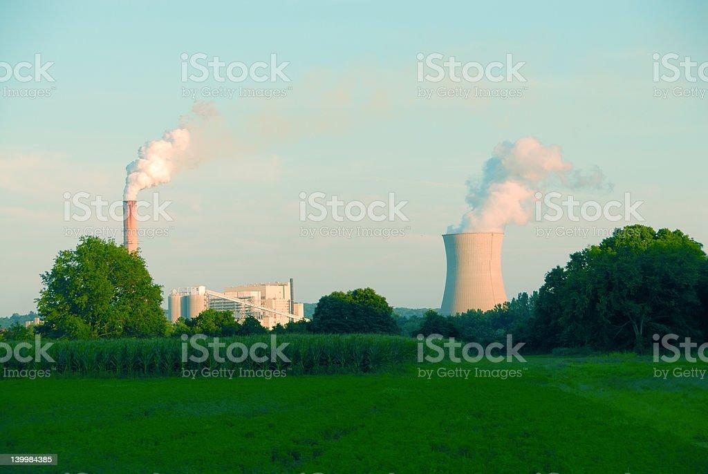 Power Plant royalty-free stock photo
