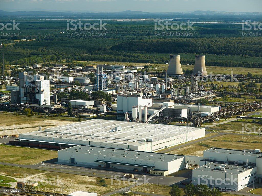 Power Plant Series stock photo