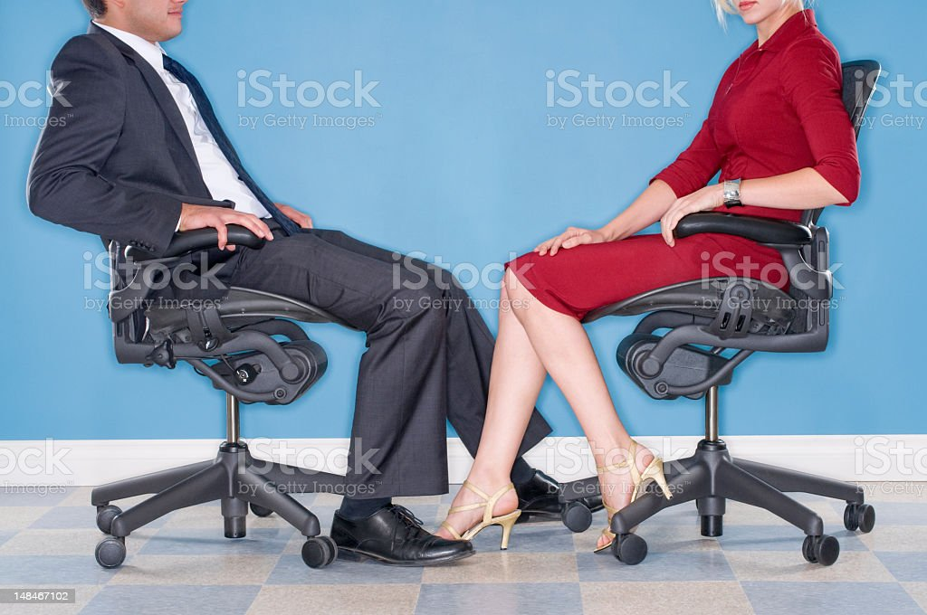 Power Play In The Workplace royalty-free stock photo