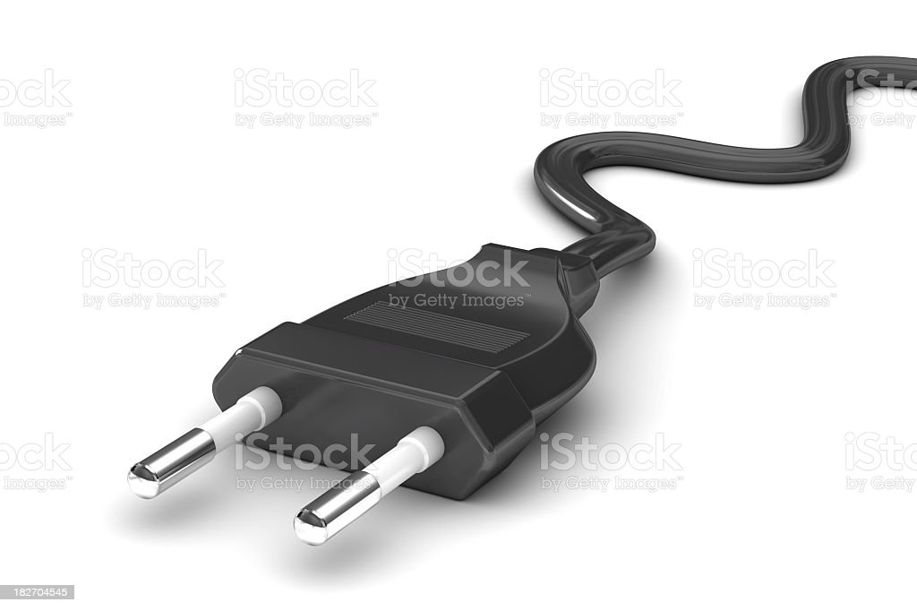Power Plug royalty-free stock photo