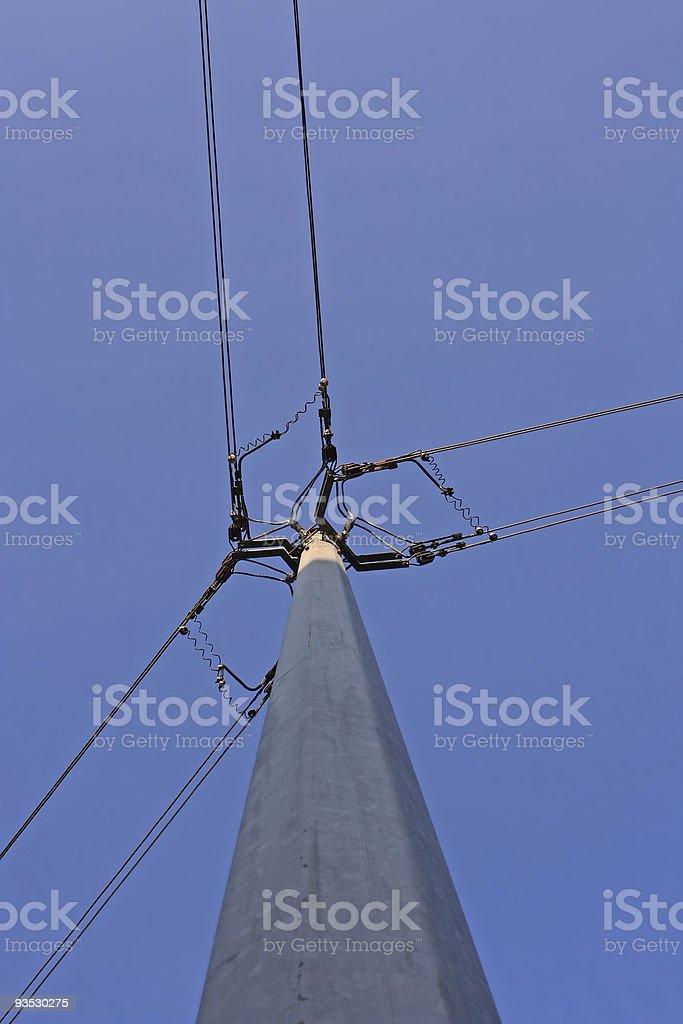 Power Pole stock photo