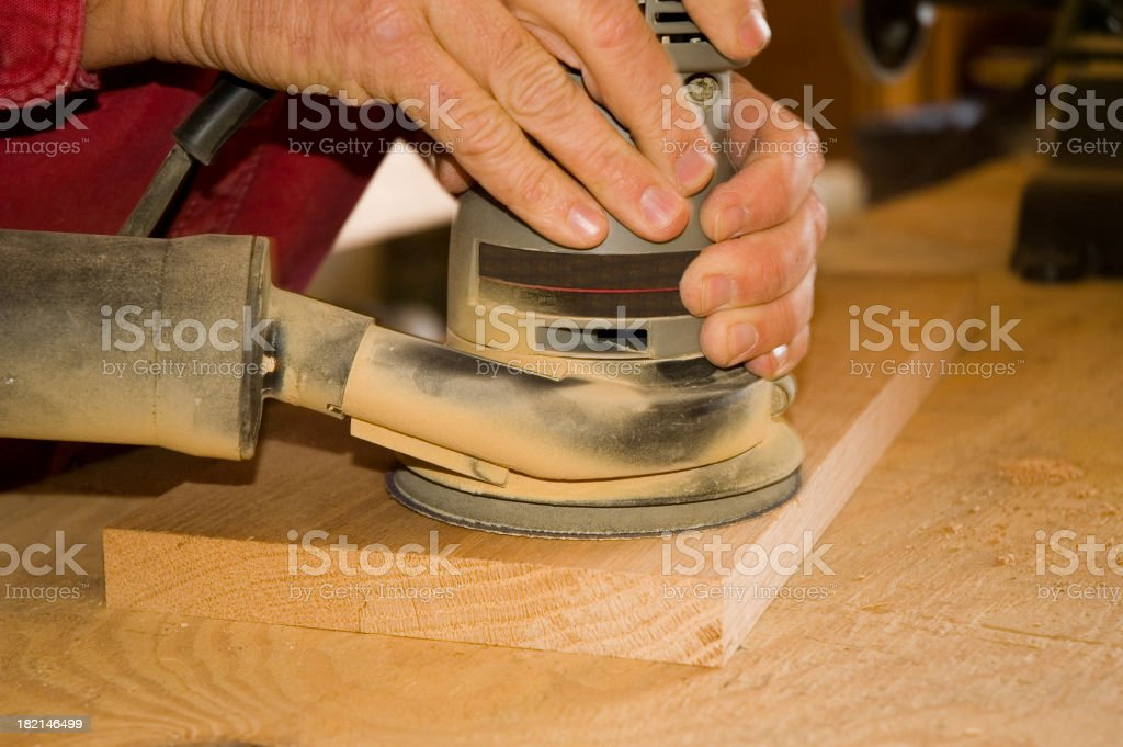 Power Sander royalty-free stock photo