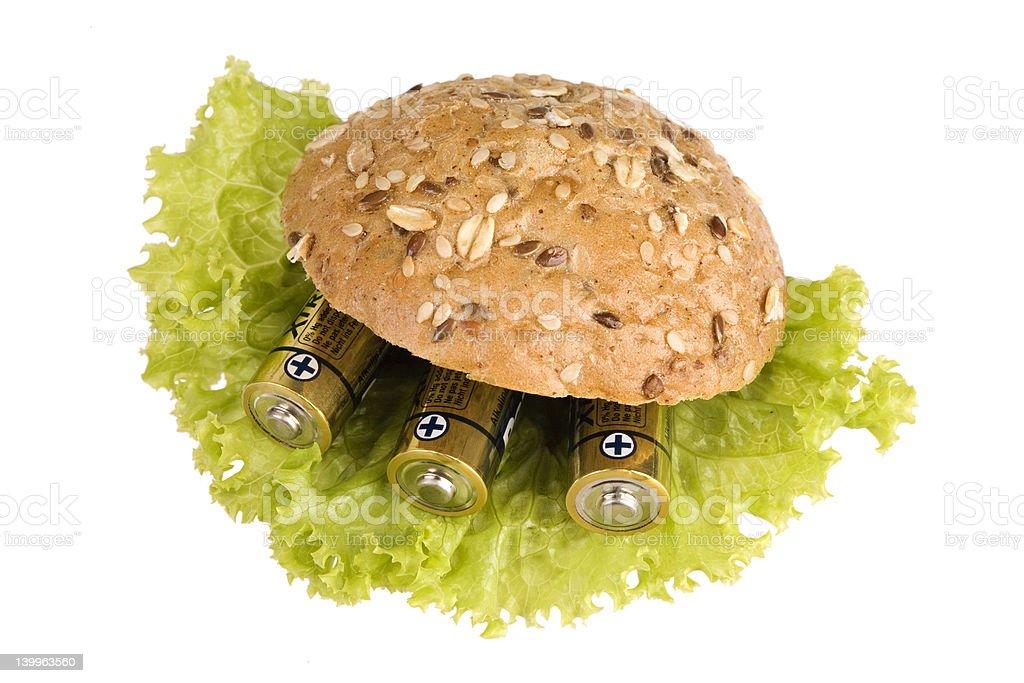 power sandwich royalty-free stock photo