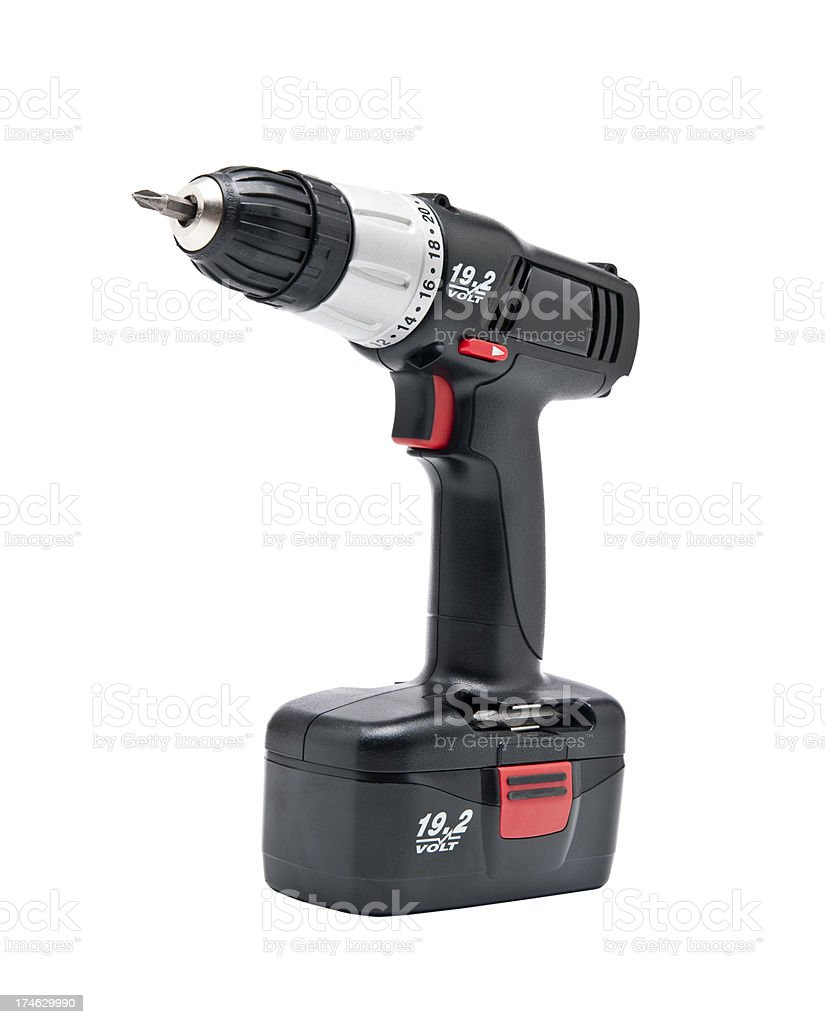 Power Screwdriver royalty-free stock photo