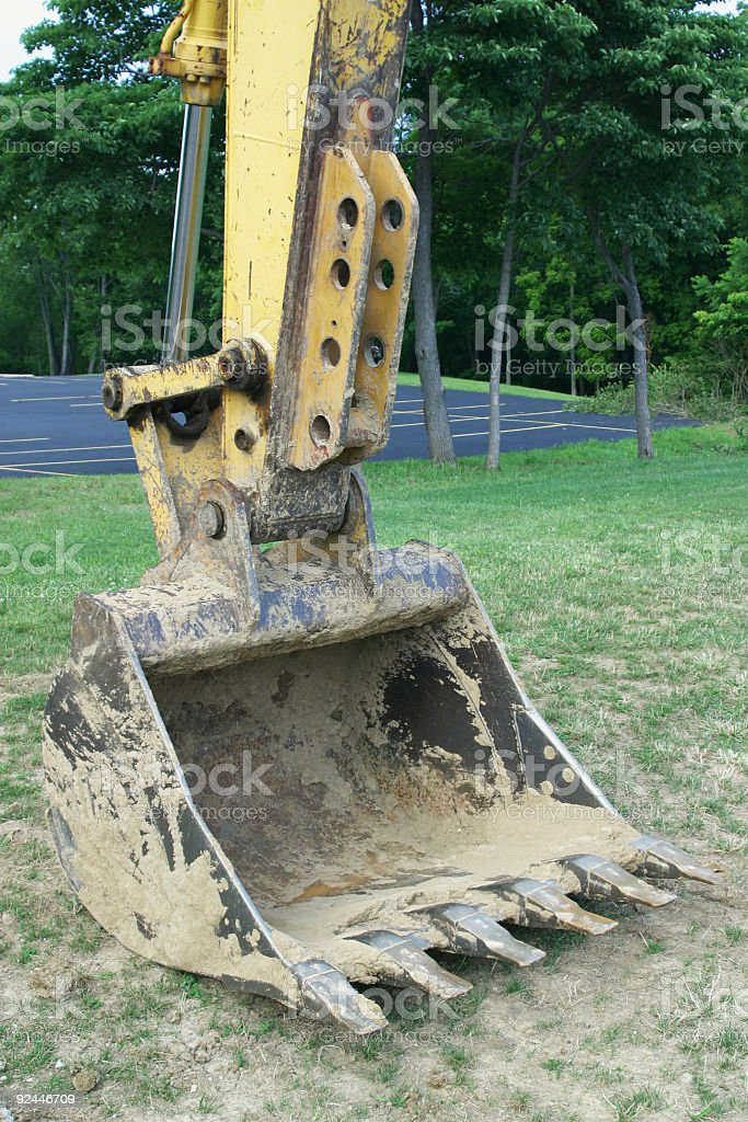 Power Shovel 2 royalty-free stock photo