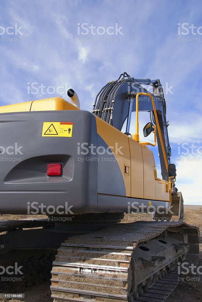 Power Shovel in Perspective royalty-free stock photo