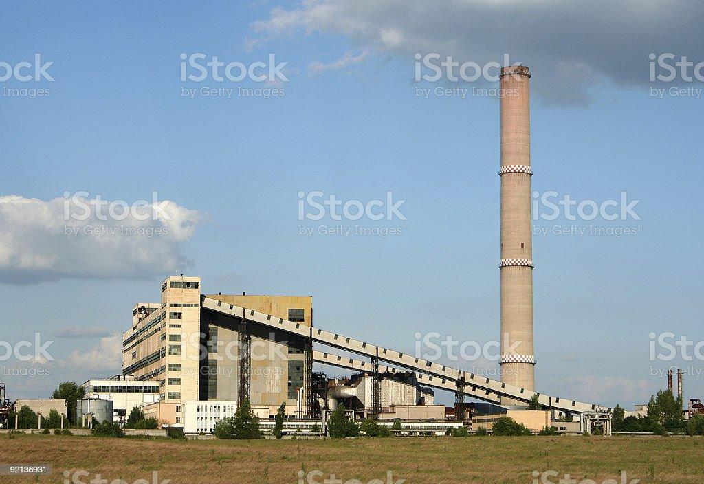 Power station royalty-free stock photo
