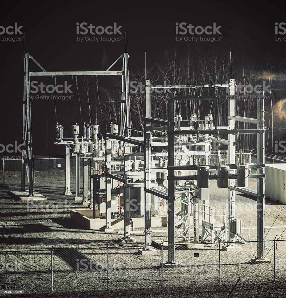 Power Substation stock photo