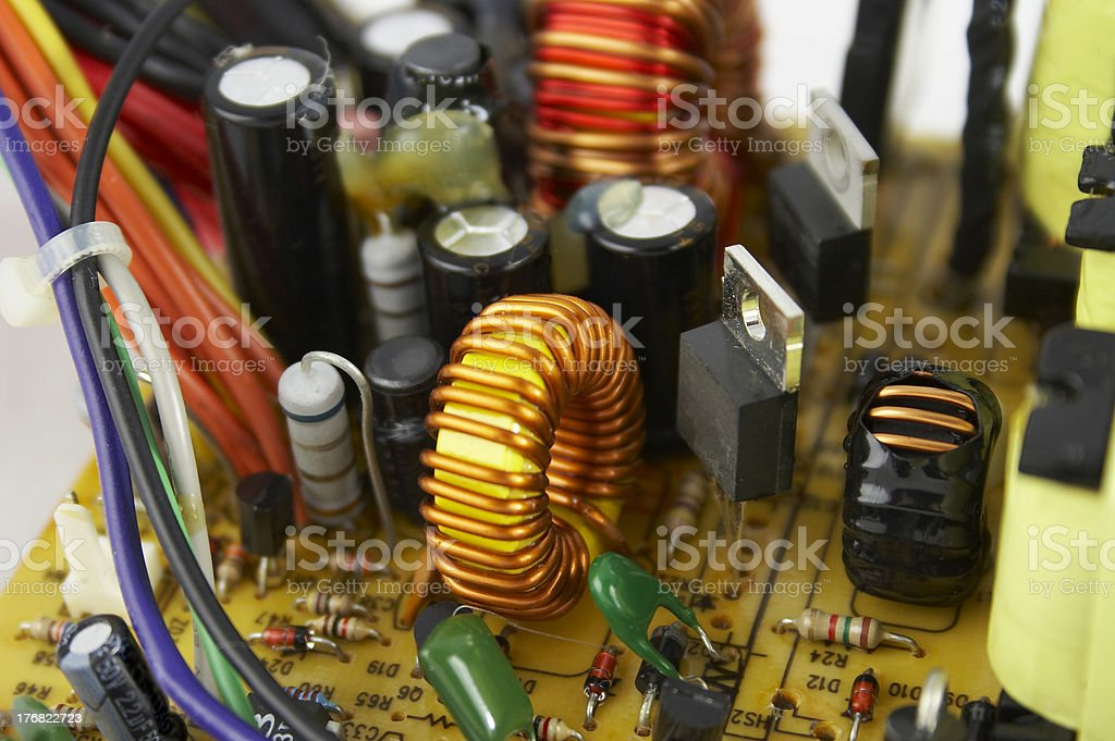 power supply 2 royalty-free stock photo