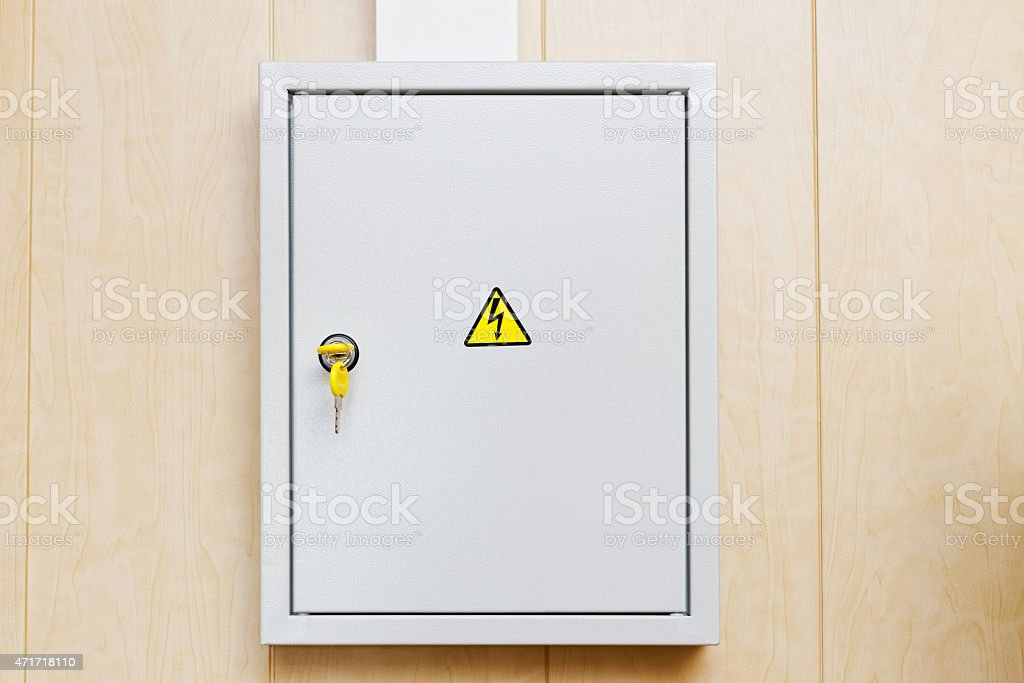 Power Supply Box stock photo