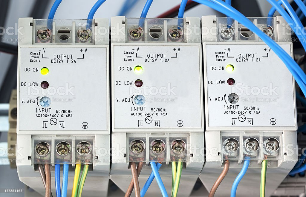 Power supply of electric current royalty-free stock photo