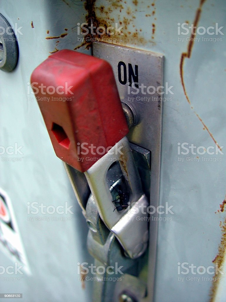 Power Switch royalty-free stock photo