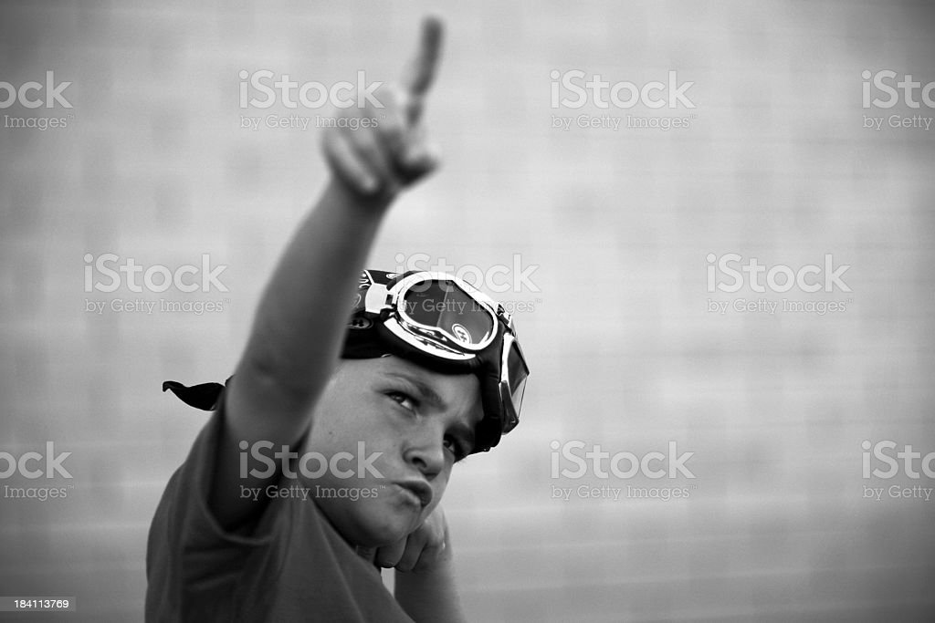Power to the Racer royalty-free stock photo