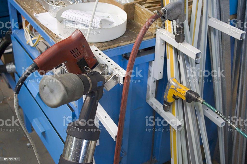 Power Tools royalty-free stock photo