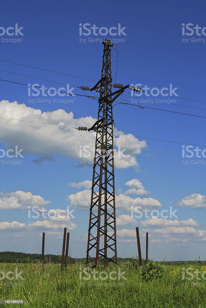 Power tower. royalty-free stock photo
