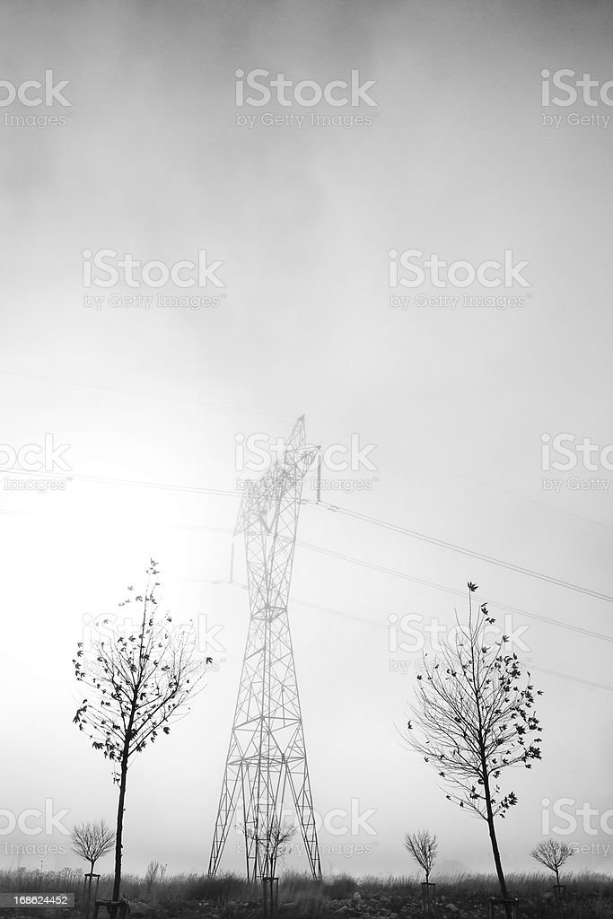 power transmission Line royalty-free stock photo