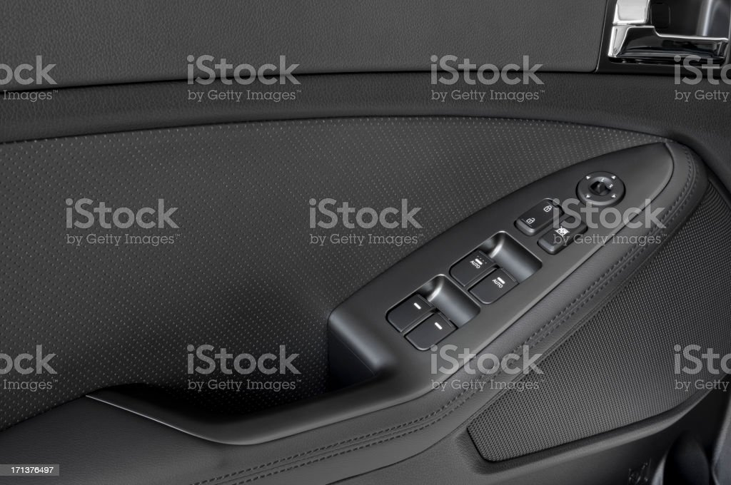 Power Windows and Door Lock royalty-free stock photo