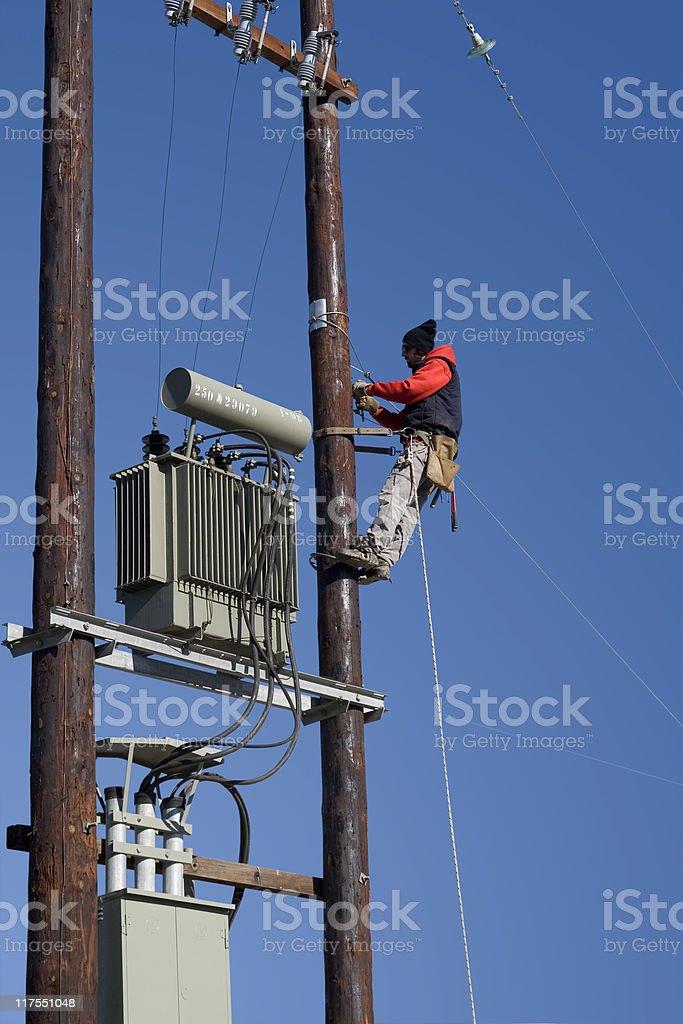 Power Workman royalty-free stock photo