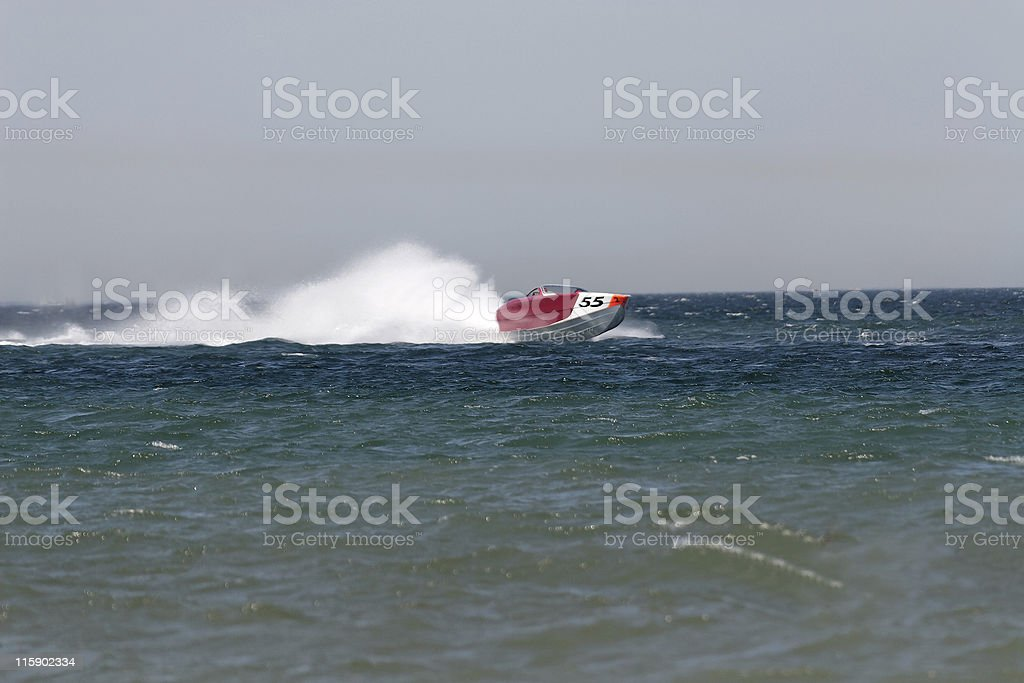 Powerboat royalty-free stock photo