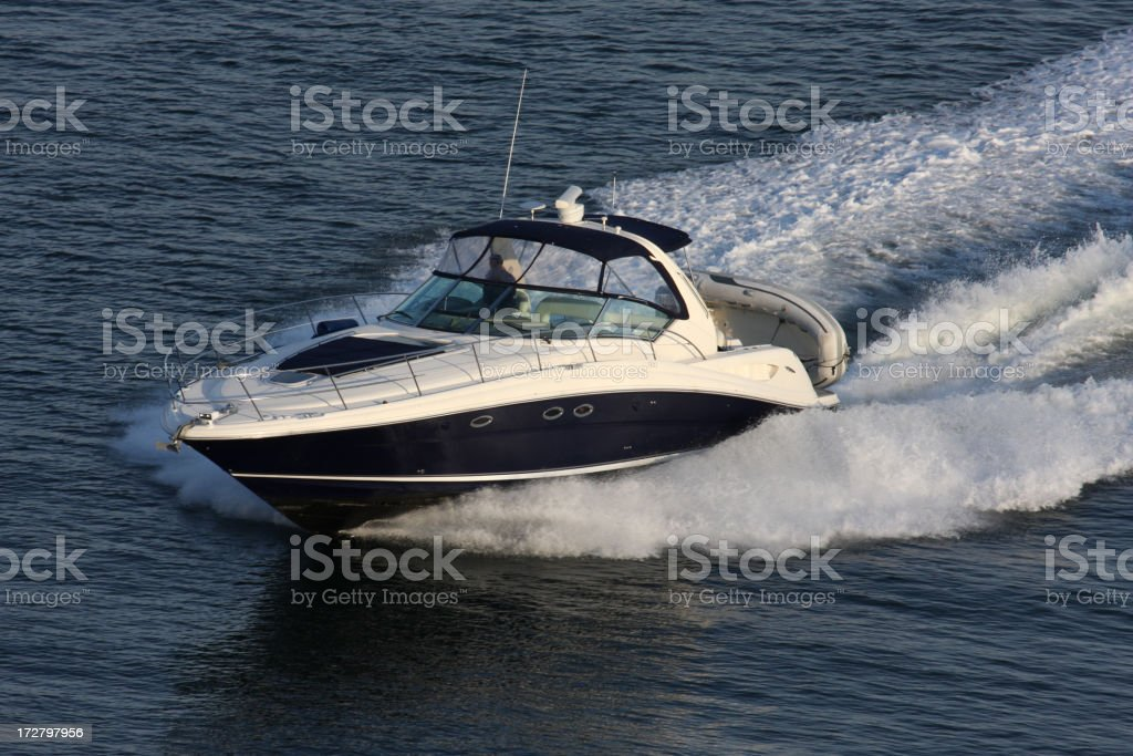 Powerboat stock photo