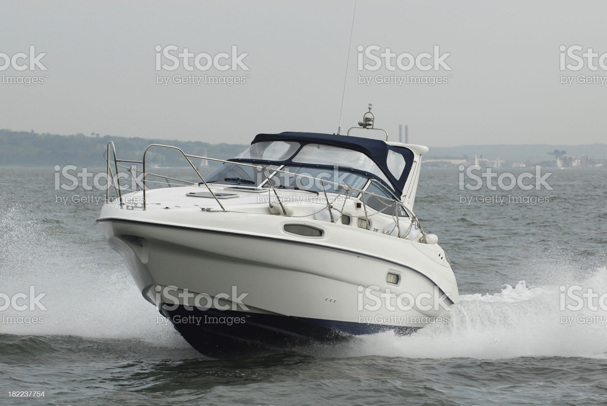 Powerboat royalty-free stock photo