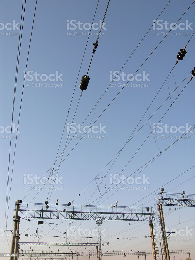 Power-current royalty-free stock photo