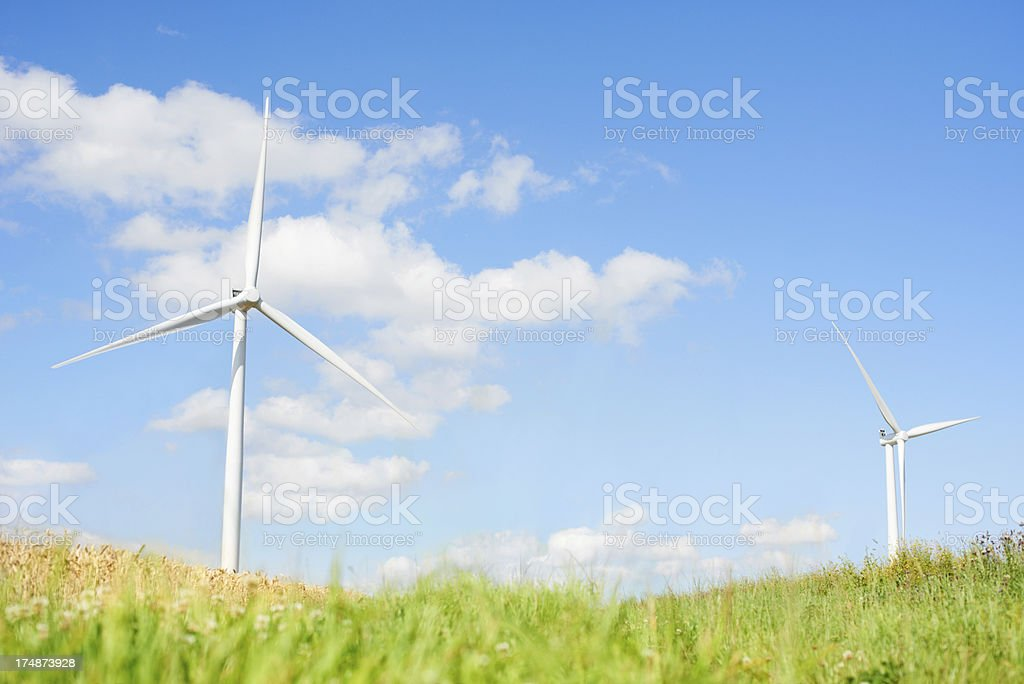 Powered by nature royalty-free stock photo