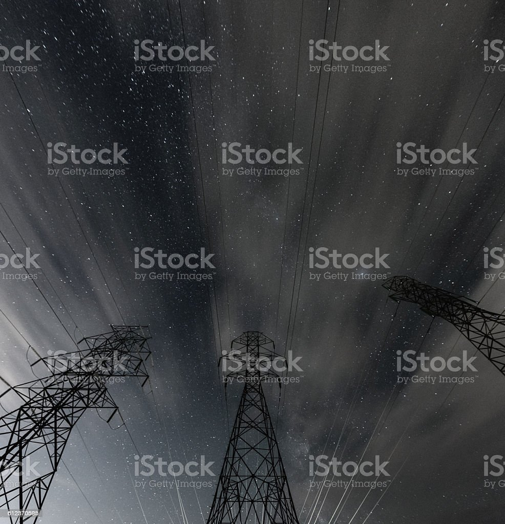 Powered by the Stars stock photo