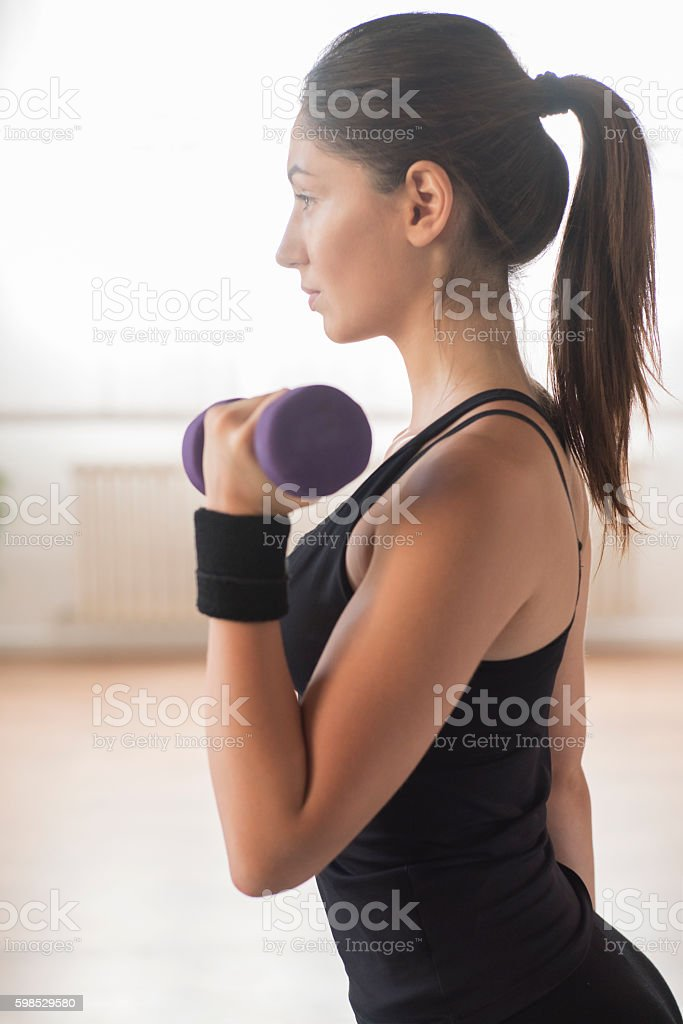 Powerful beauty stock photo