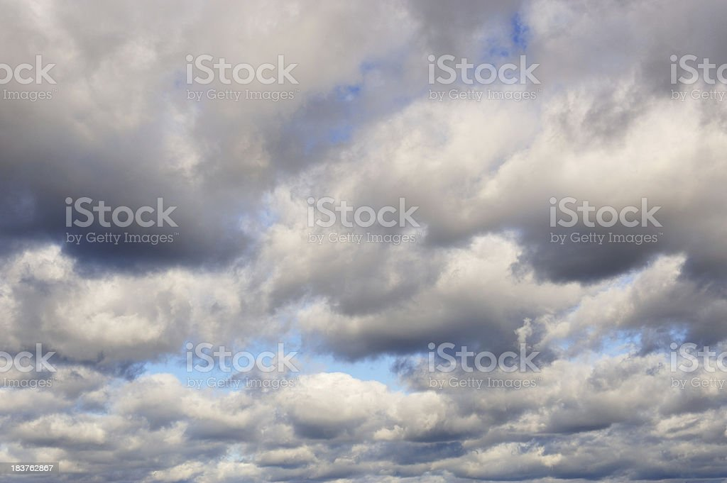 Powerful cloudy sky royalty-free stock photo