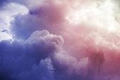 Powerful cloudy sky