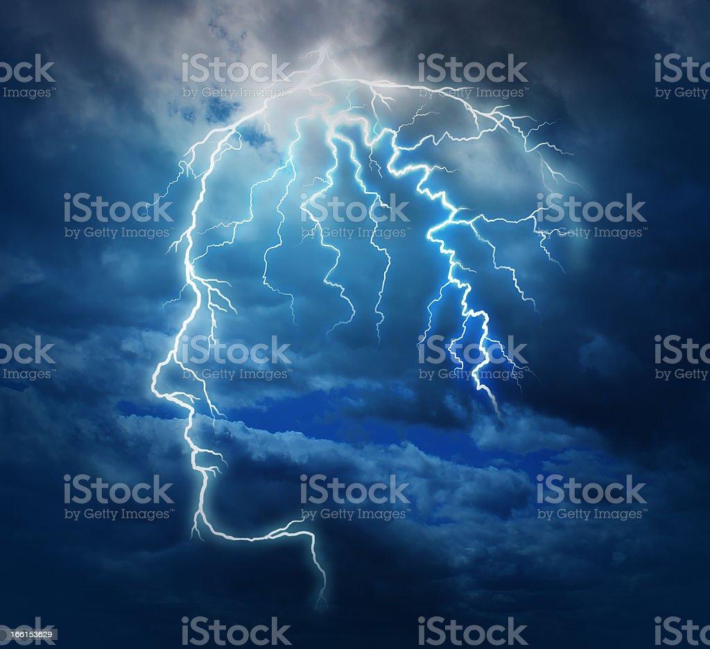 Powerful Intelligence royalty-free stock photo
