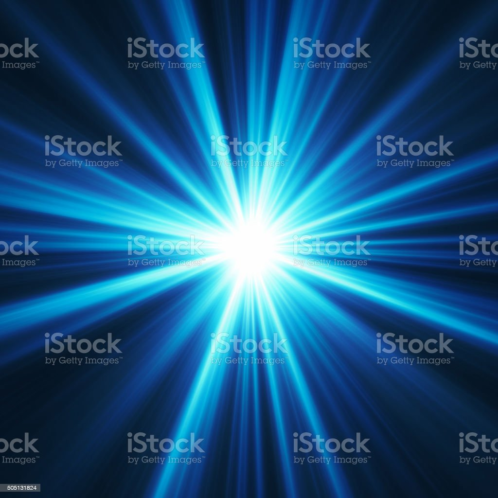Powerful Light stock photo