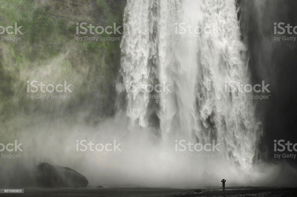 Powerful nature stock photo