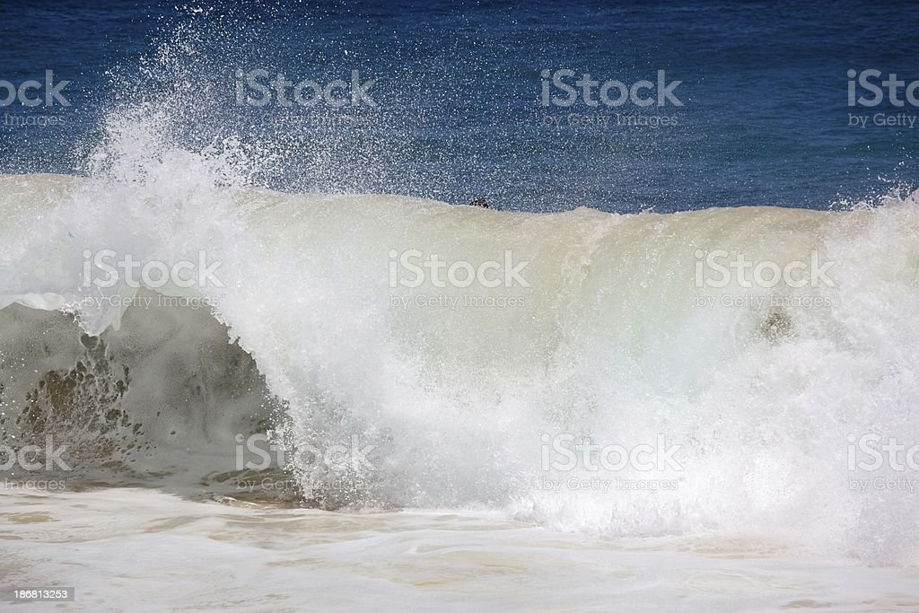 Powerful Pacific Surf stock photo