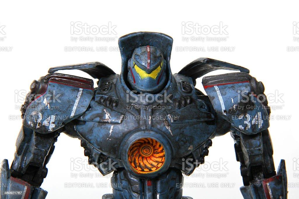 Powerful Shoulders stock photo