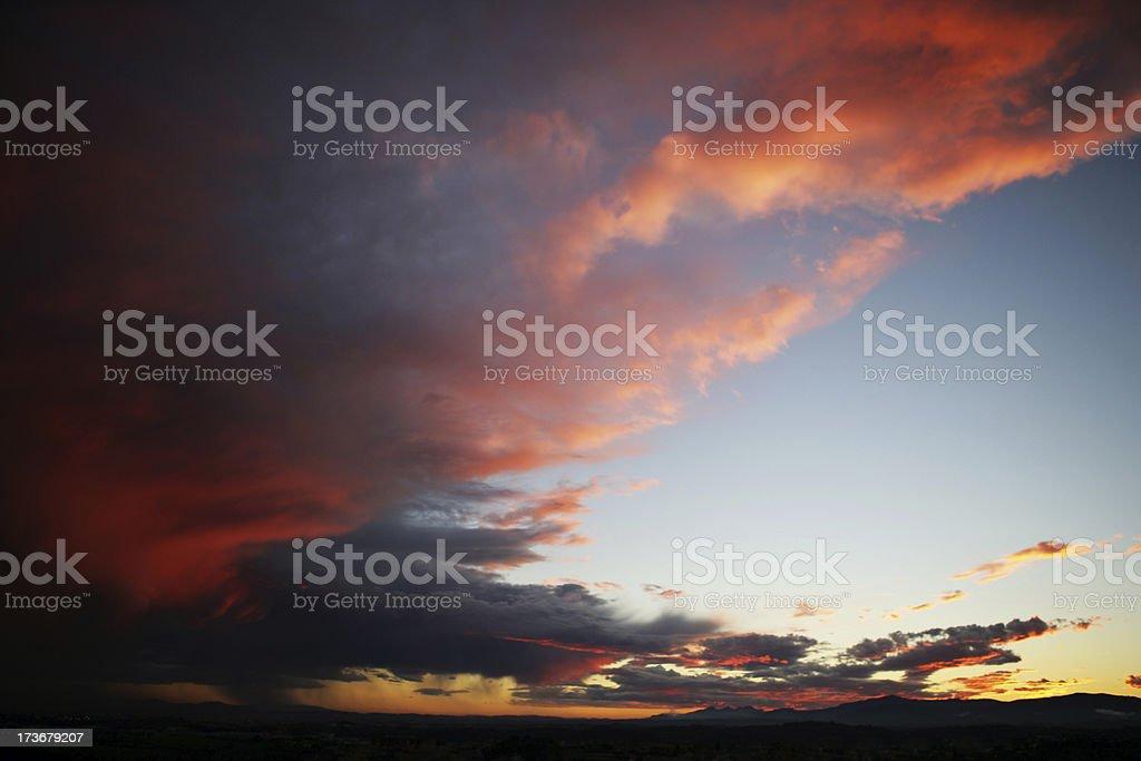 Powerful sky royalty-free stock photo