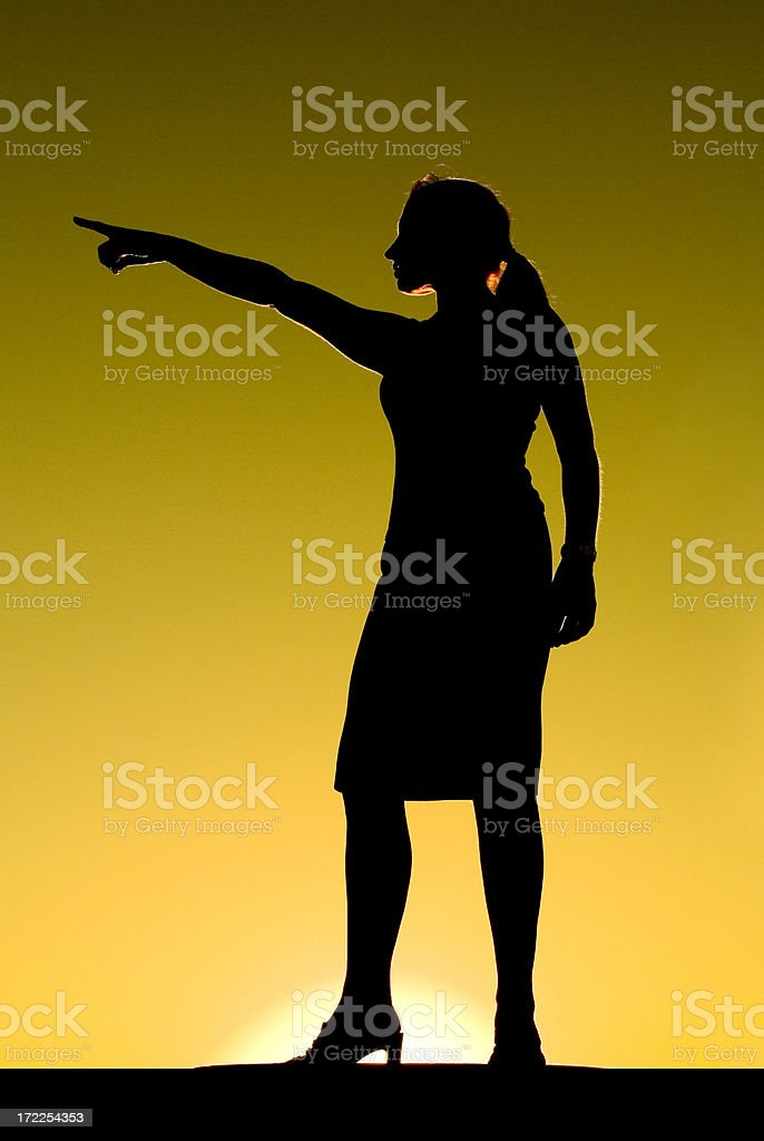 Powerful Woman 2 royalty-free stock photo