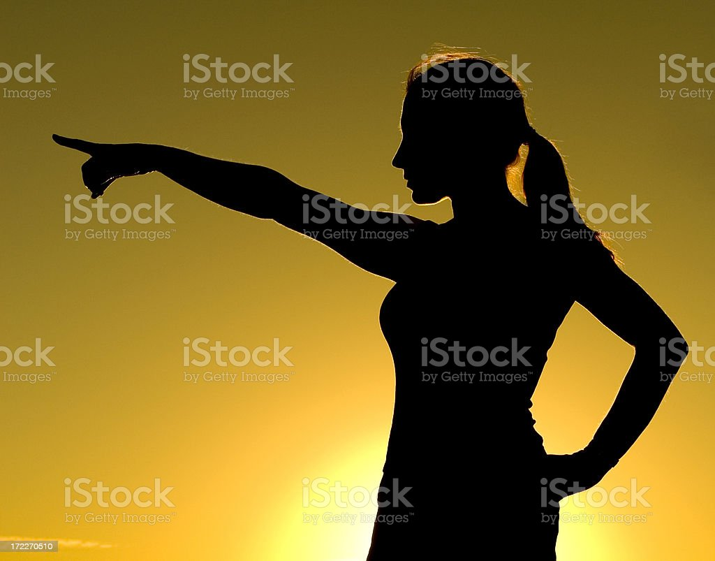 Powerful Woman 3 royalty-free stock photo