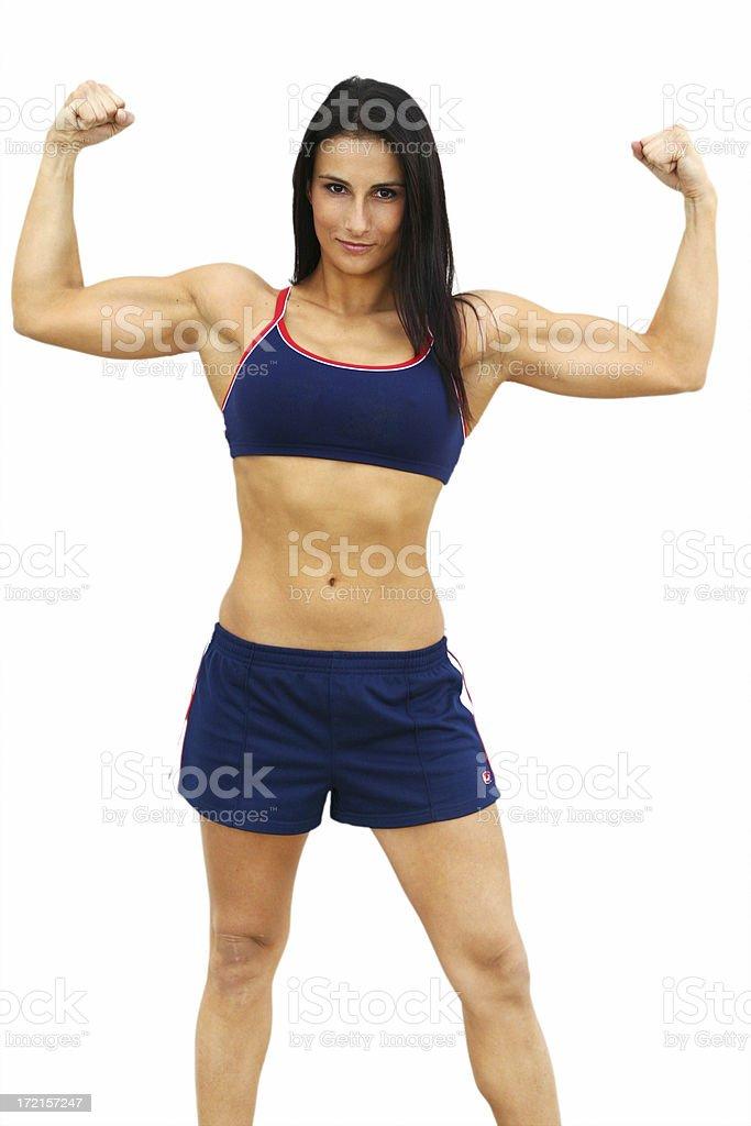 Powerful Woman royalty-free stock photo