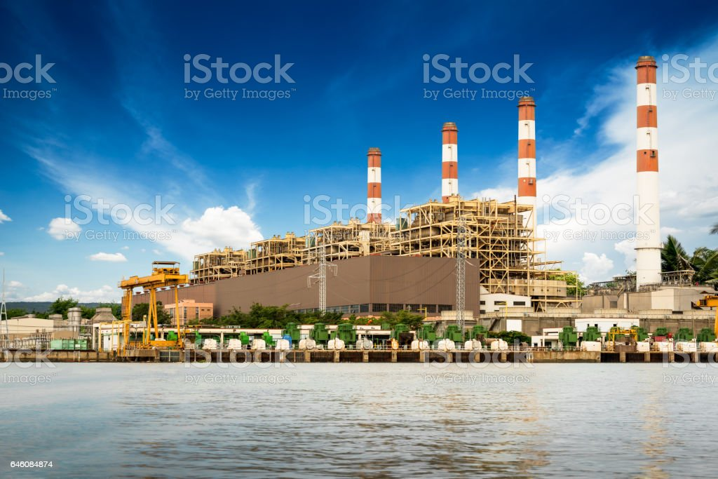 Powerhouse building stock photo