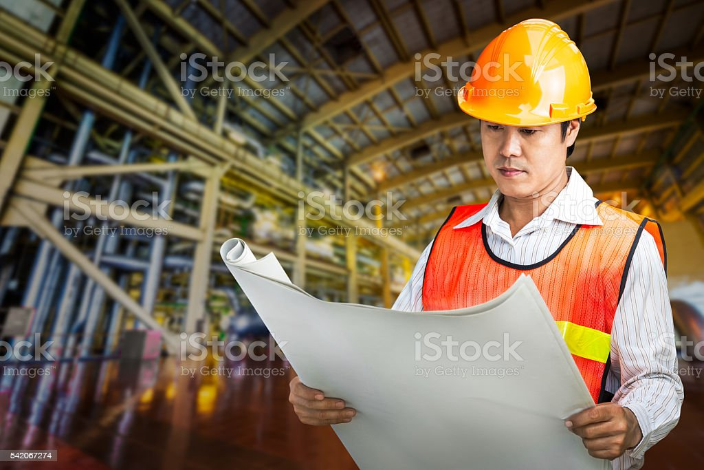 Powerhouse govern engineer stock photo