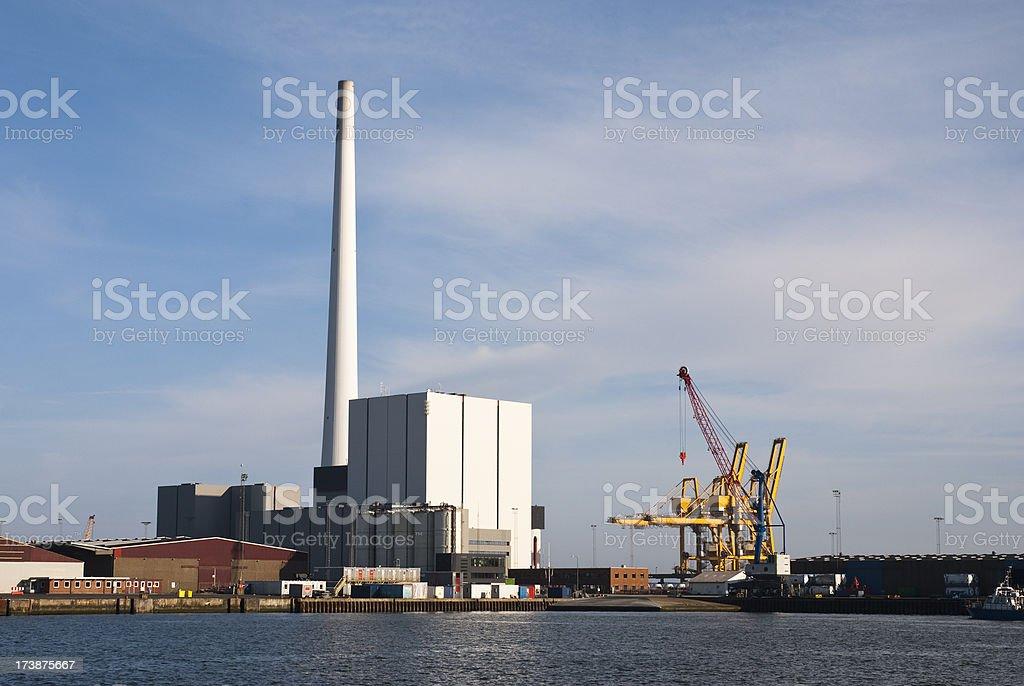 Powerplant stock photo