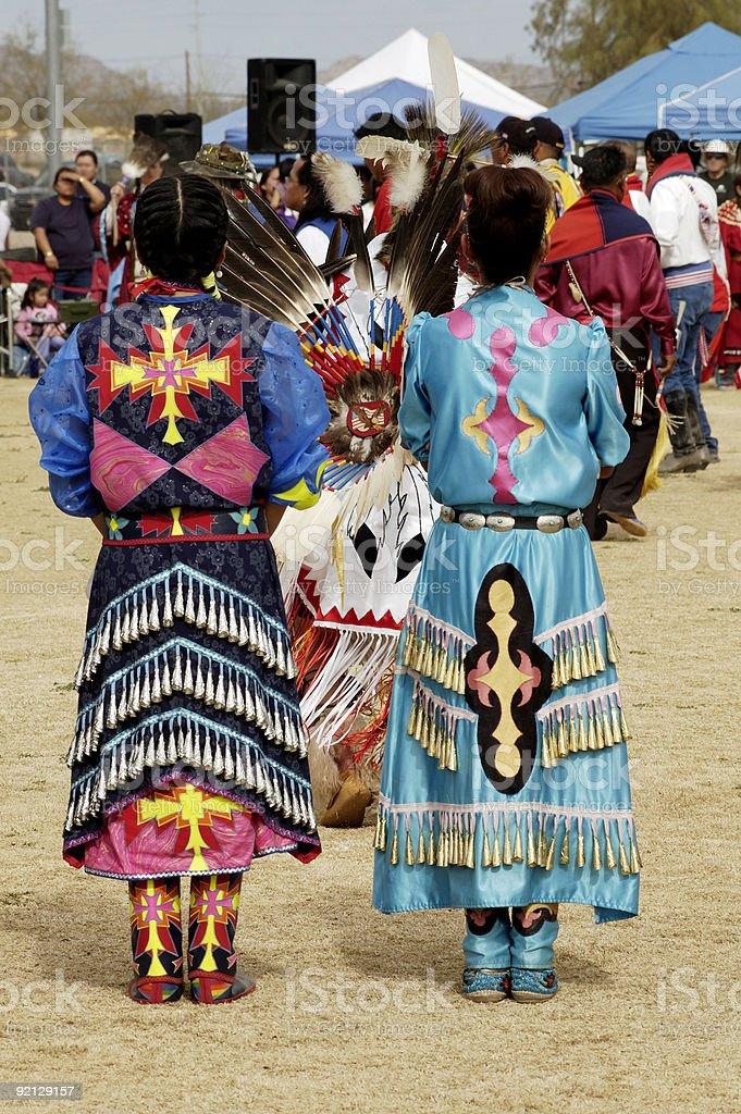 Powwow 3 stock photo