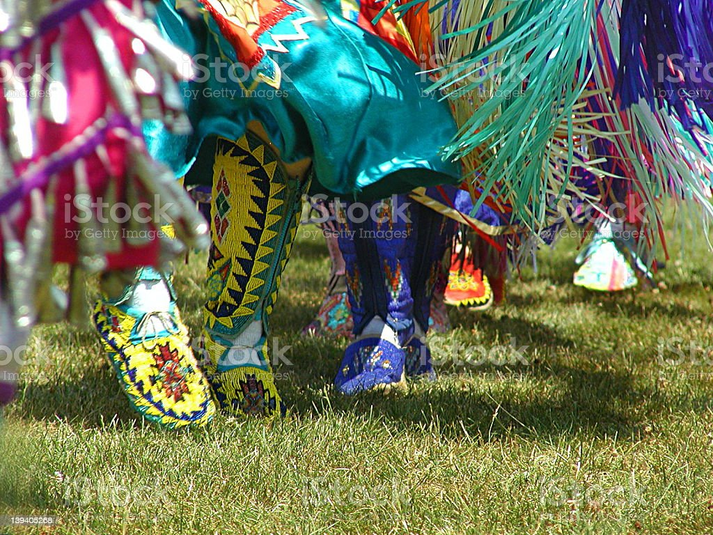 Pow-Wow stock photo